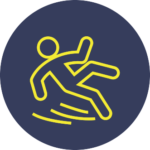 Slip and Fall icon