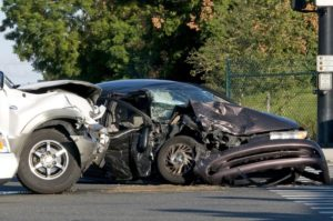 Two-Car Collision in Albion