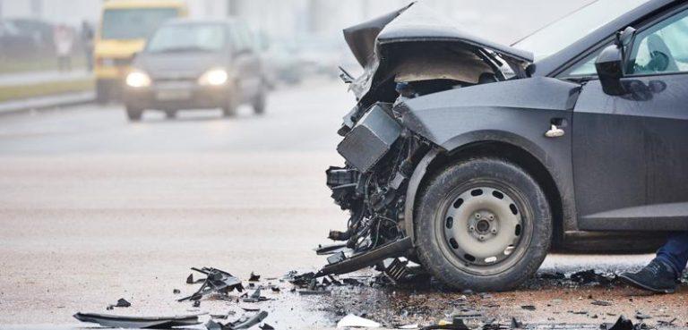Crash in Bennington