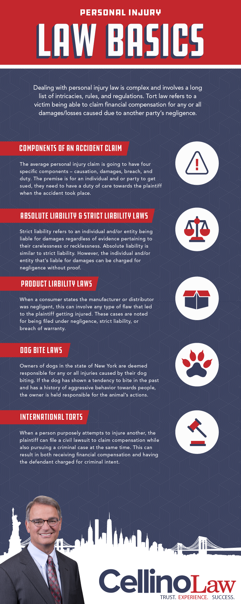 Brooklyn Personal Injury Lawyer Infographic