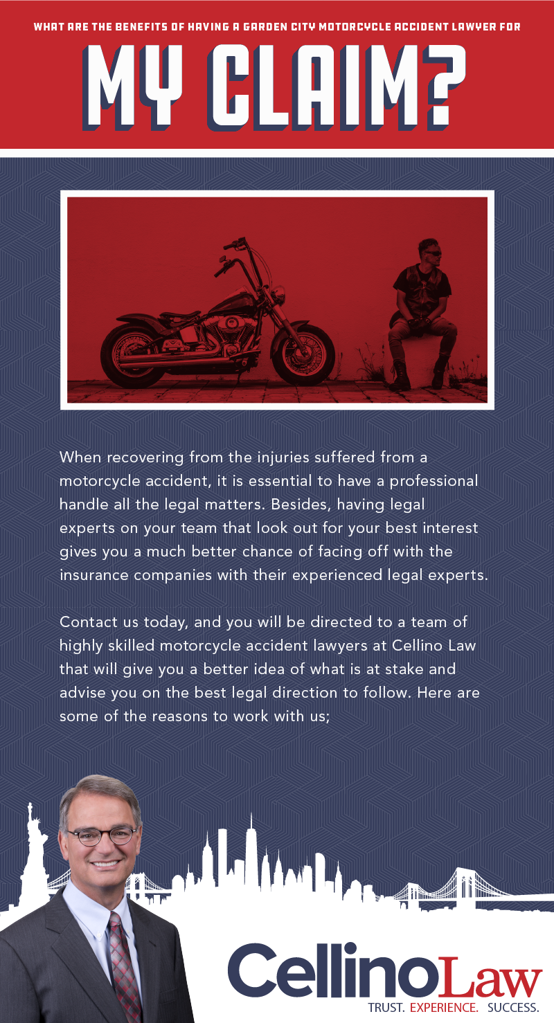 Garden City Motorcycle Accident Lawyer Infographic