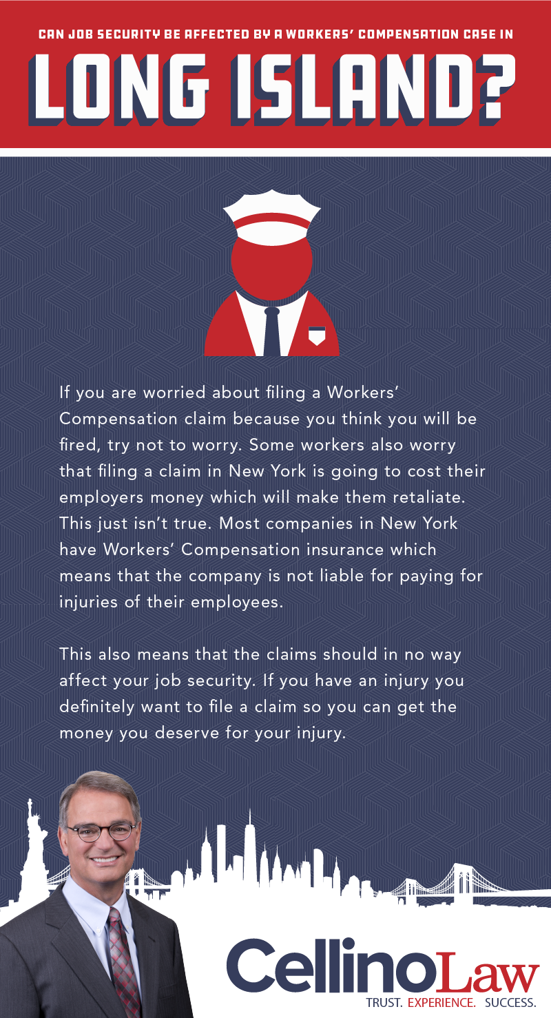 Can Job Security Be Affected By A Workers' Compensation Case In Long Island?