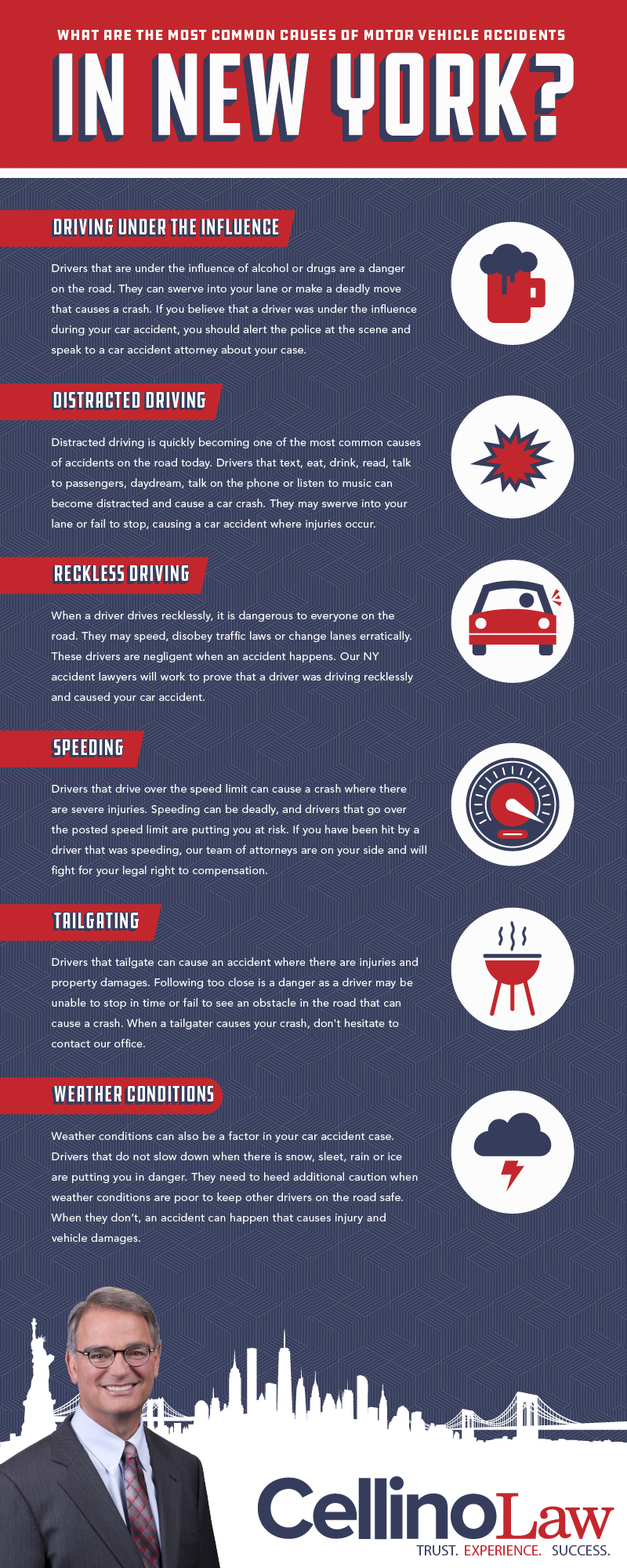 New York Truck Accident Lawyer Infographic