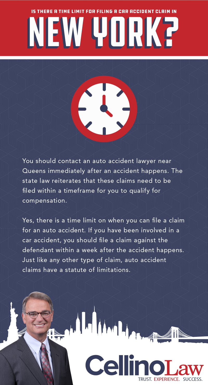 Is There A Time Limit For Filing A Car Accident Claim In New York?
